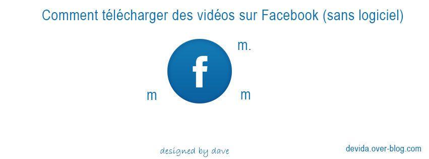 Comment télécharger des vidéos sur Facebook sans logiciel ?