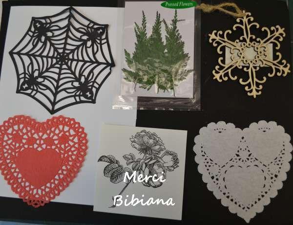 Cartes de vœux échangées