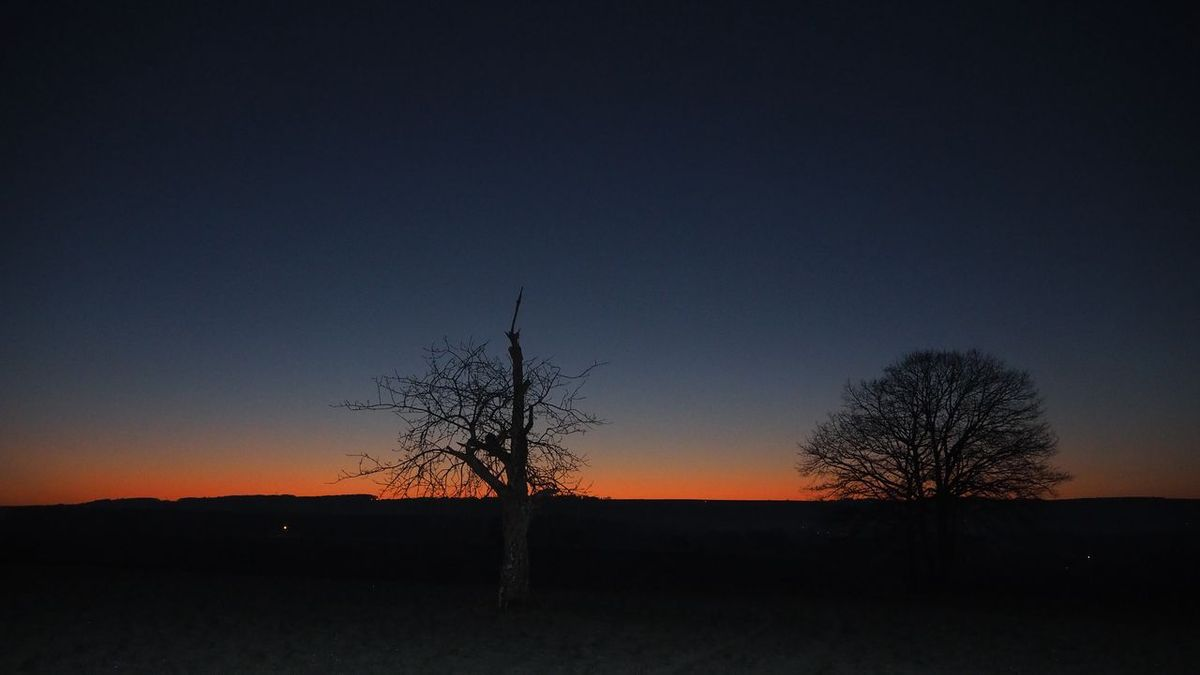 7 h 20 Lever de soleil vu depuis le belvédère