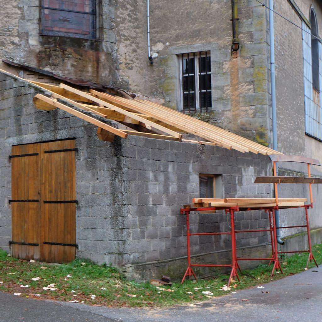 Rénovation de l'ancien local des pompiers pour mettre à la disposition de la Transition d'Ici