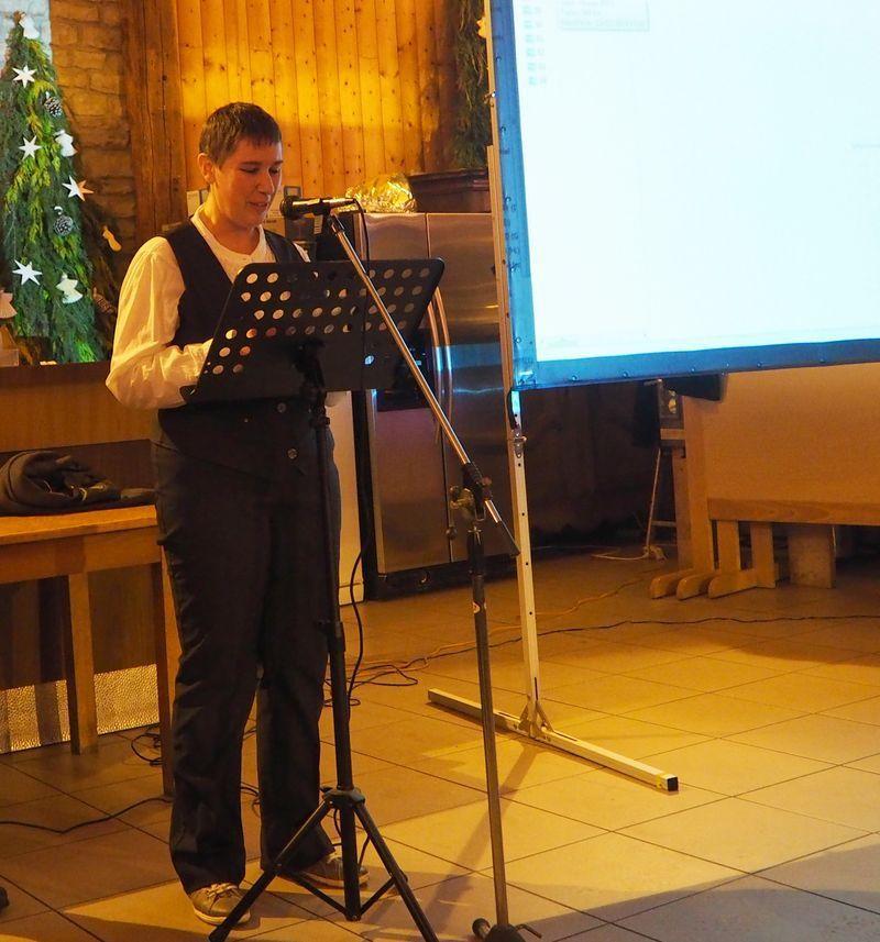 Mme Marie Lacercat, adjointe à la mairie