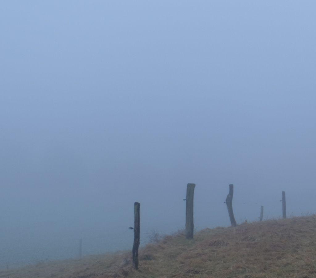 Brouillard à la Chapelle de Bonne Espérance