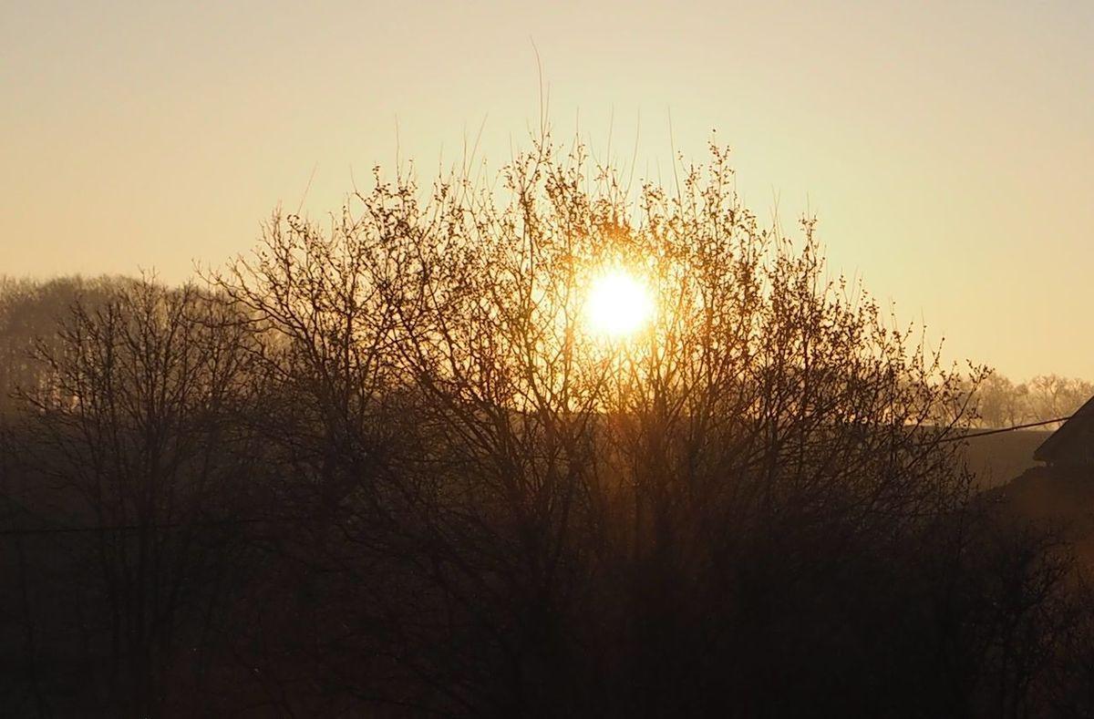 Lever de soleil à la Basse des Orges