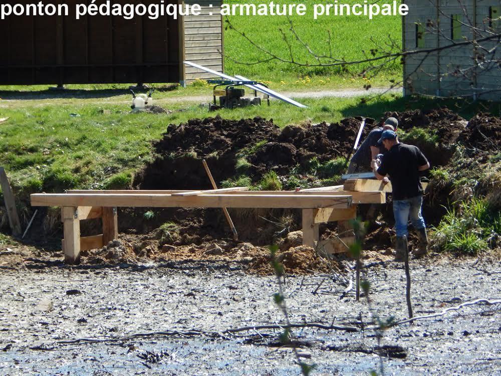 TRAVAUX DE SUIVI NATURALISTE et D'AMENAGEMENT PEDAGOGIQUE