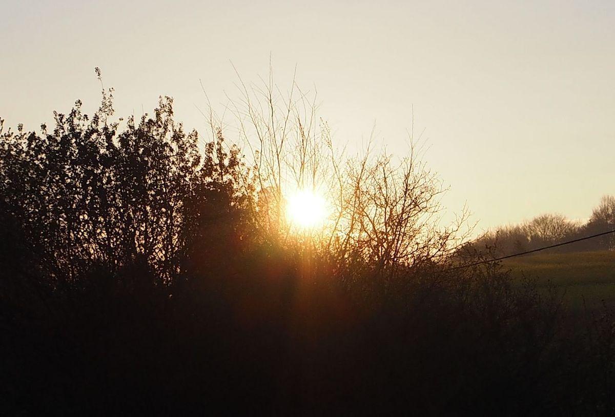 Lever de soleil sur le Chaudiron