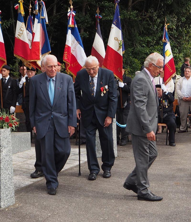 72 ème anniversaire du maquis de Grandrupt de Bains