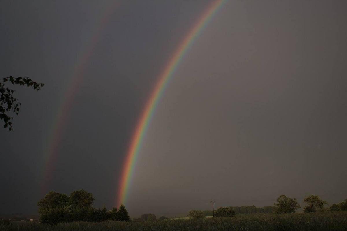 Apès l'orage à la Grande Fosse. Photo Sylvia von Kaenel