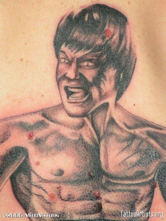 Bruce Lee vraiment vénère
