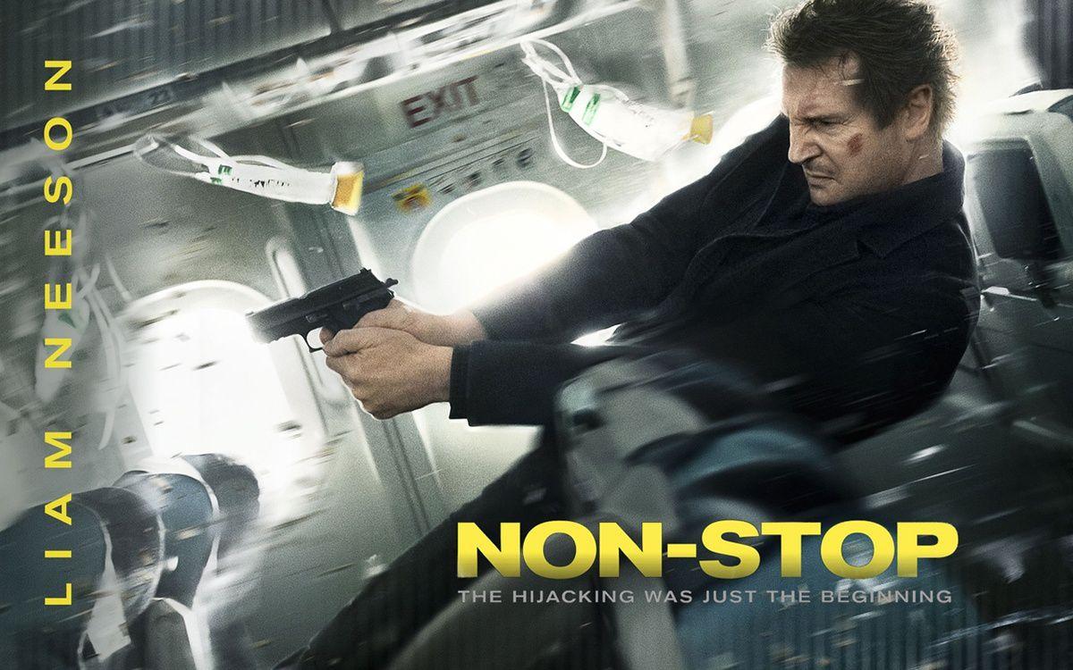 NON STOP, un film encore pire qu'AIR FORCE ONE...