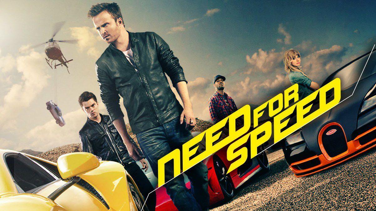 NEED FOR SPEED, un film sur la bande d'arrêt d'urgence