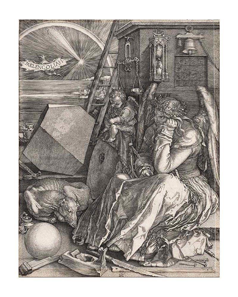 Melencolia I, gravure d'Albrecht Dürer (1514)