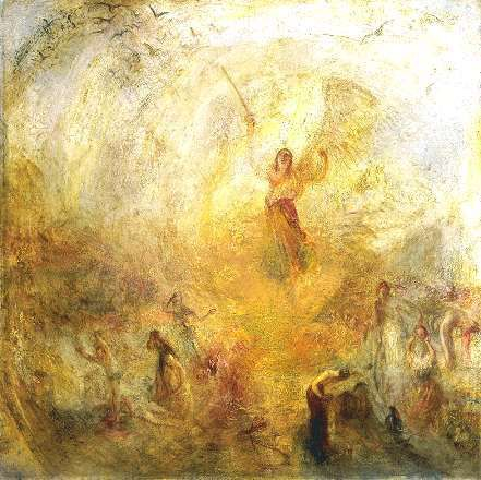 William Turner L'Ange debout dans le soleil © Tate Britain