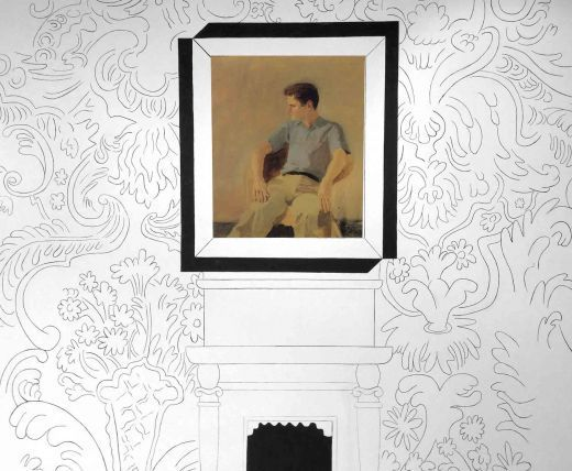 In l'exposition JOHN ASHBERY COLLECTS: Poet Among Things, an immersive multi-media gallery experience, septembre 2013 - Lien ci-dessous -.
