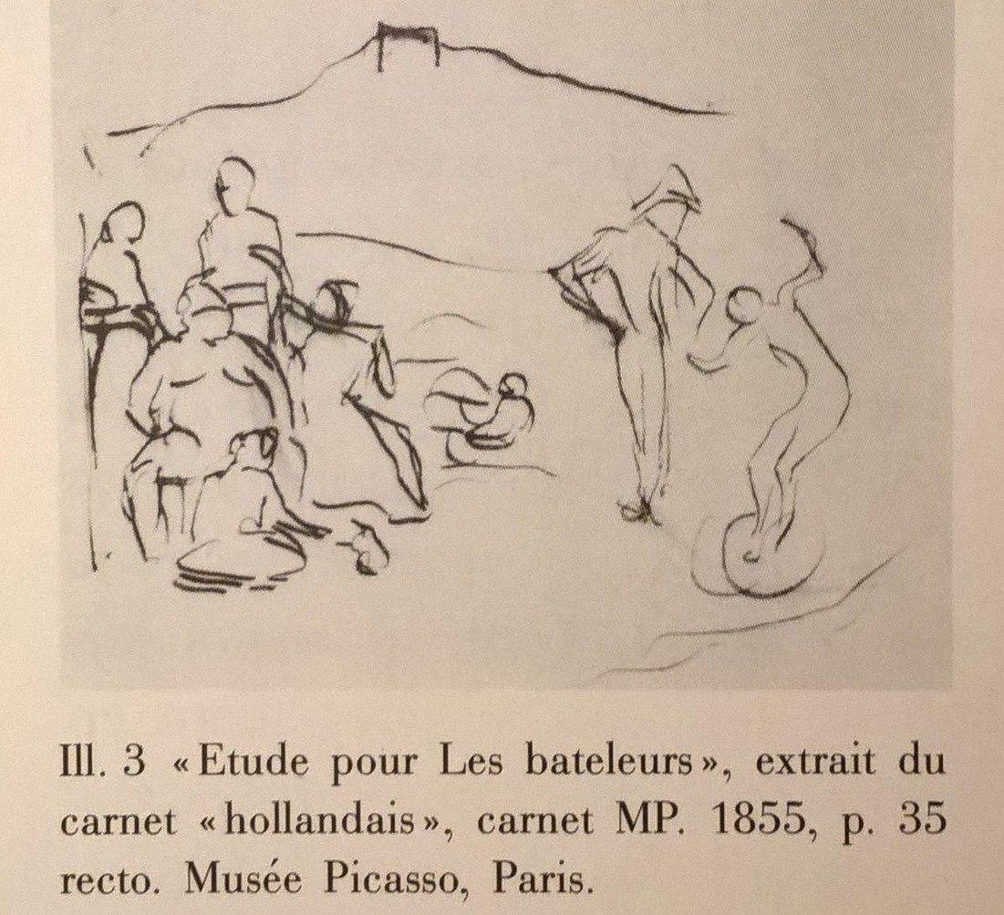 """Photographie extraite de """"Picasso, Les chefs-d'oeuvre de la Période rose, Quarante tableaux"""",Bibliothèque visuelle, Schirmer / Mosel, 1992"""