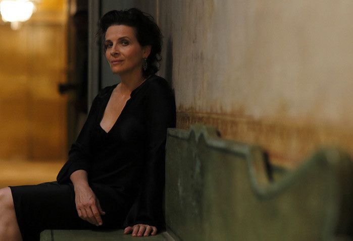 PORTRAITS IN-EYES  -  JULIETTE BINOCHE