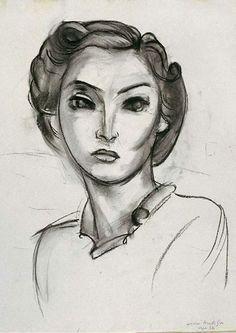 Matisse Dessins Portraits Visages D Expression Aller