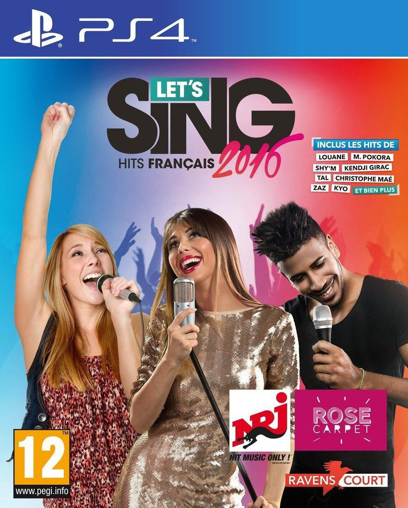Let's Sing 2016 : Hits Français et Let's Sing 2016 : Hits Internationaux
