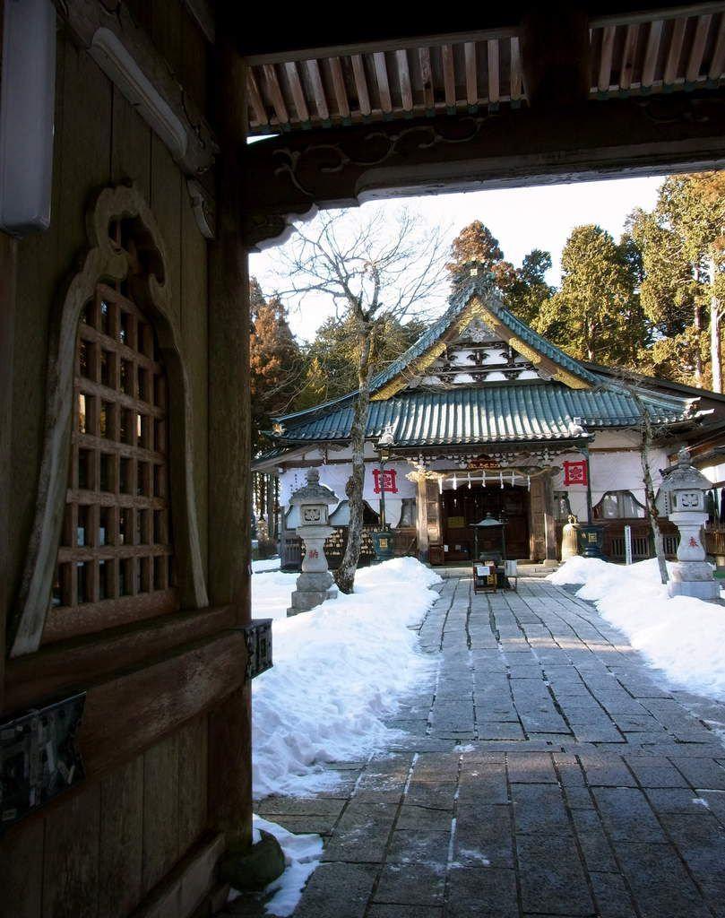Préf. de Yamanashi : Le Mont Minobu 身延山