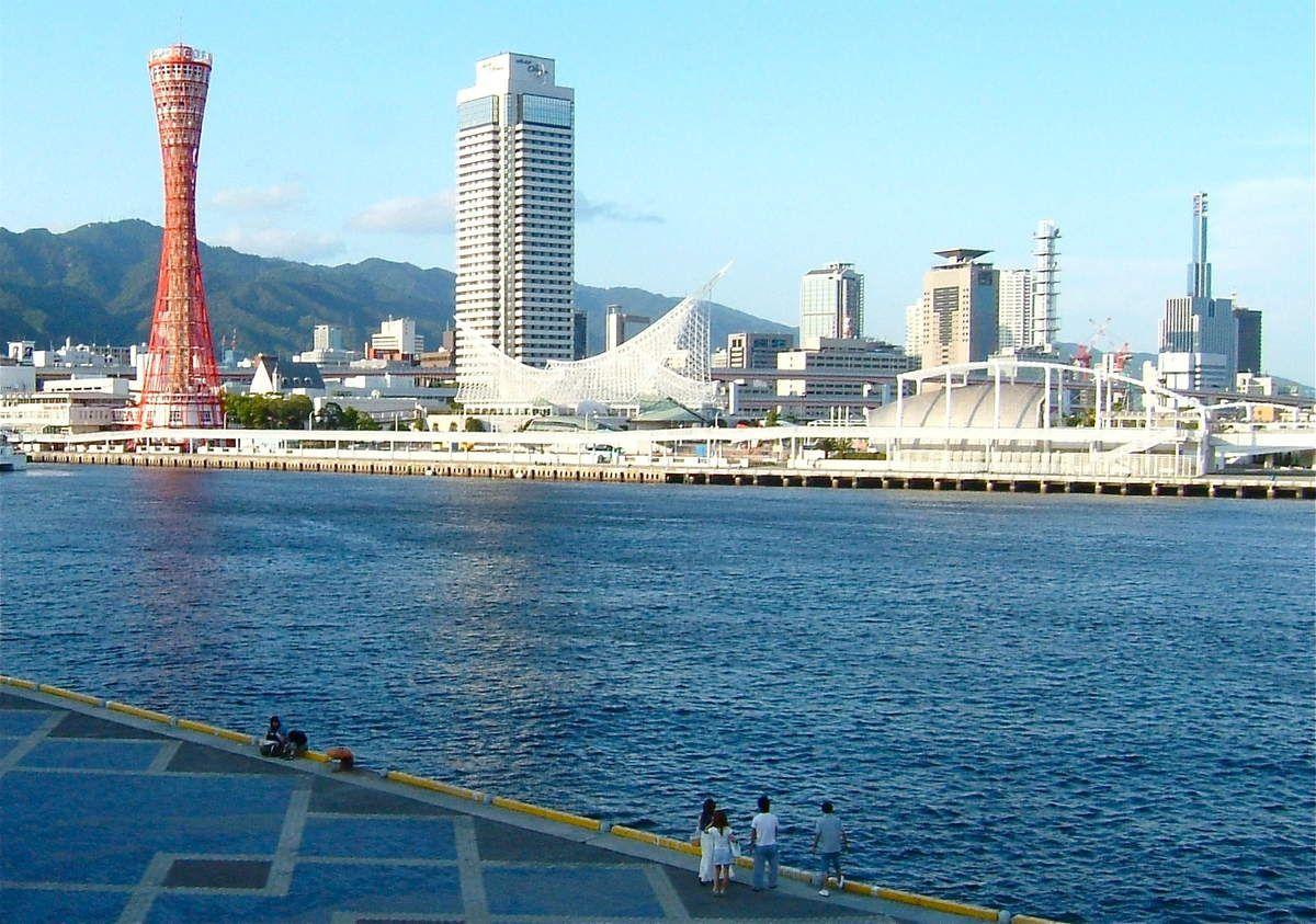 Kôbé 神戸 (la porte des dieux !), son port et son petit Chinatown