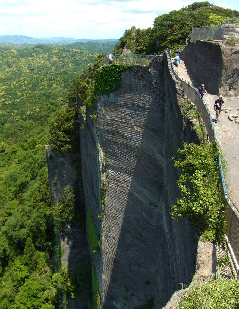 Préf. de Chiba : Le mont NOKOGIRI (La montagne scie!)