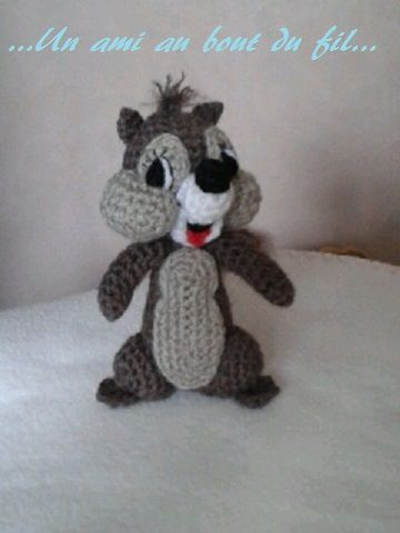 ...Un petit écureuil...
