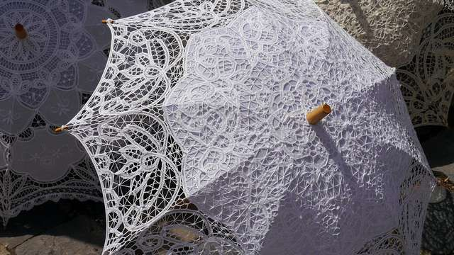 Lace is classic companion to wedding for centuries