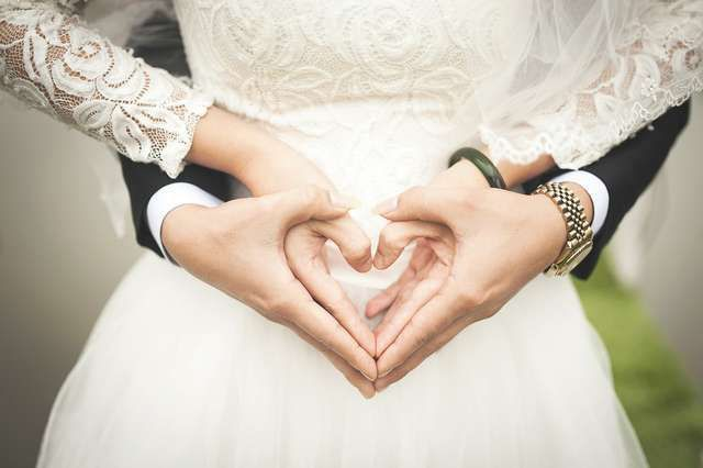Heart is an ancient symbol of love and live, just right for a wedding theme