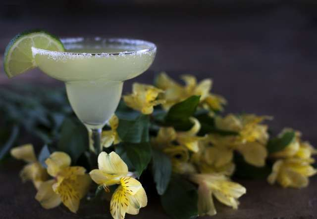 Margaritas and other cocktails are popular companion of bridal showers