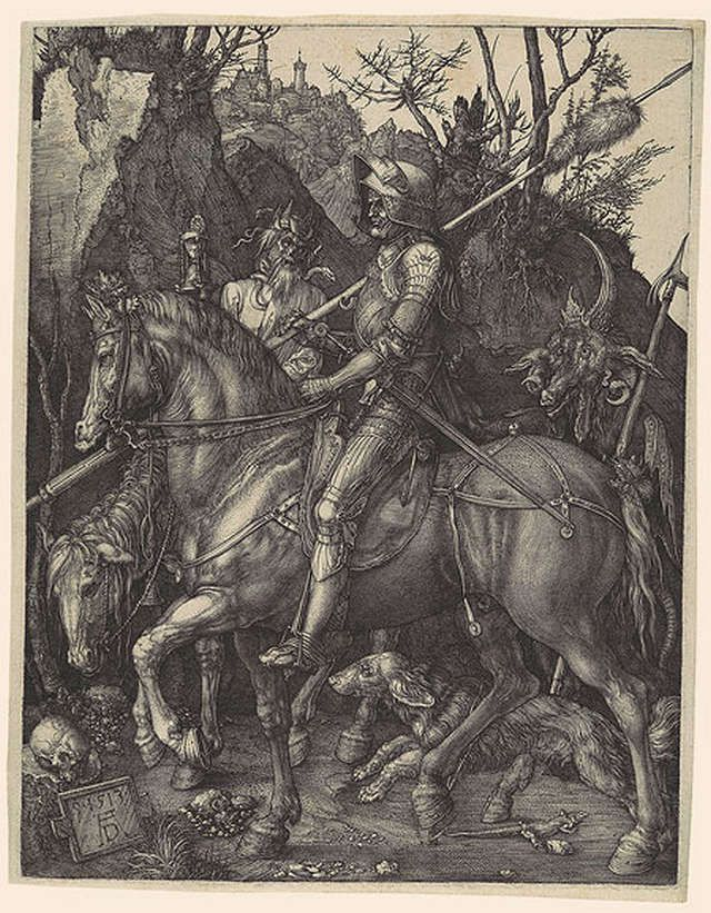 Knight, Death, and the Devil by Albrecht Durer