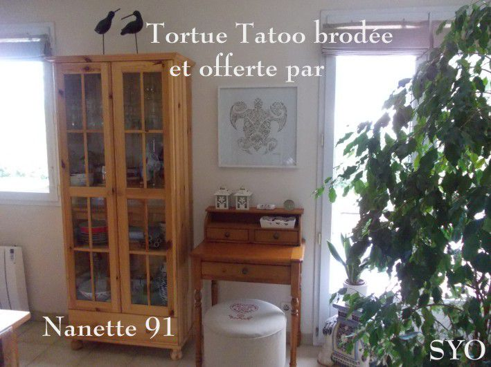 La fabuleuse Tortue Tatoo de Nanette91..... Finitions