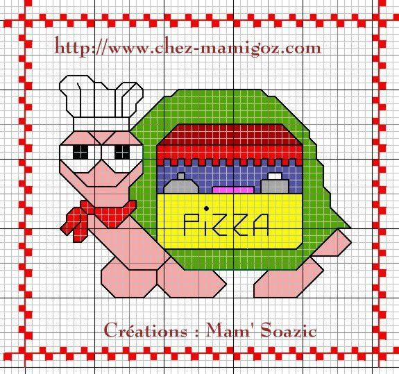 Supplément pour album : Tortue Pizza-bus