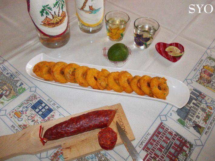 Donuts au Surimi, goût Homard à l'Armoricaine