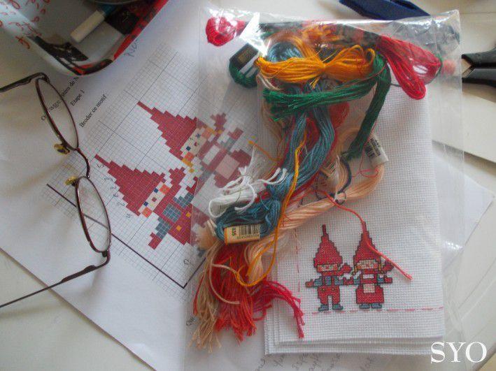 SAL de Noël , Anne-Marie, la surprise commence...