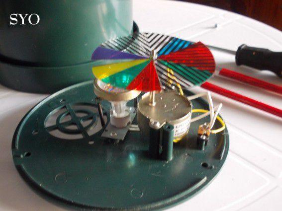 Bidouillage réparateur, de mon Sapin de Noël, avec fibres optiques