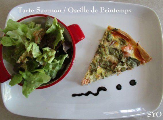 Tarte Saumon-Oseille, un grand classique de saison