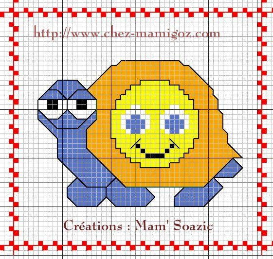 Plaid Tortue : Tortue Smiley