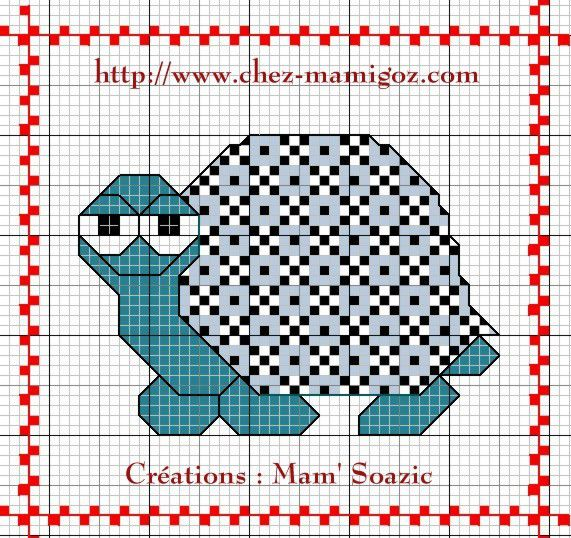 Plaid Tortue : Tortue Azulejo 2