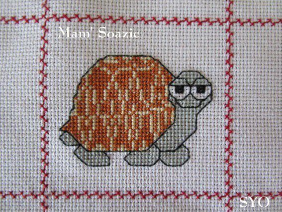 Plaid Tortue : Tortue  Etoilée