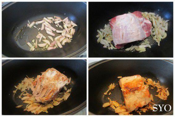 Sauté de Porc aux PrimaBreizh et Christophines