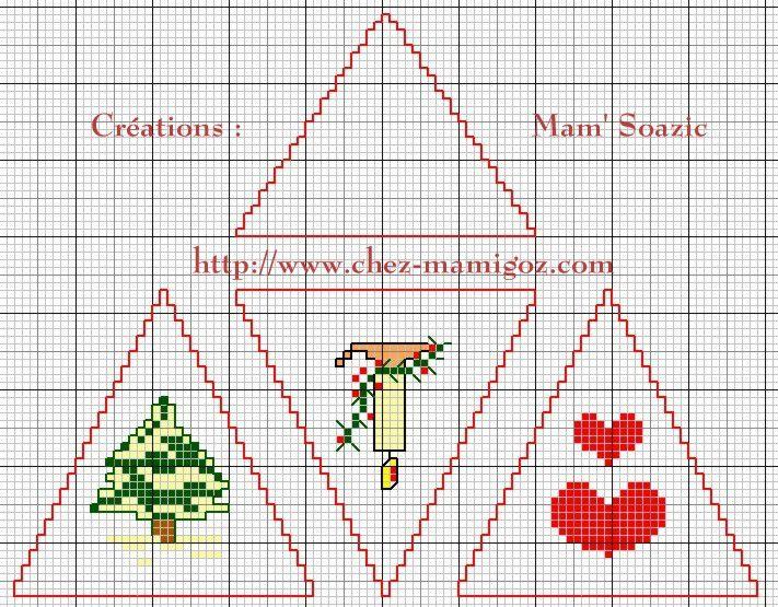 Dernière Pyramide à broder avant Noël