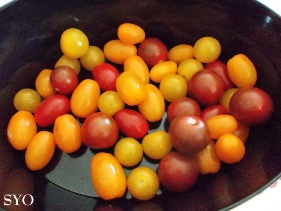 Défi Prince de Bretagne: Tomates cerises en Physalis