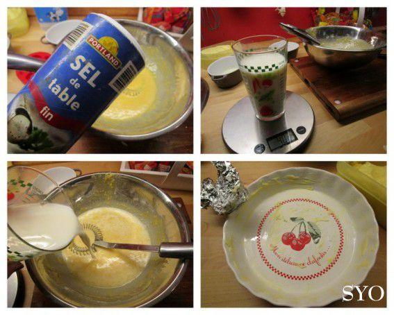 Le Clafoutis Patricia aux Pommes flambées et caramel au beurre salé