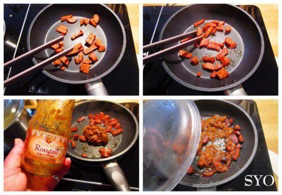 Les Petits Potins: Les tribulations d'un pot de Sauce Rougail....