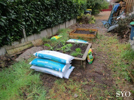 Le Jardin de Fille prend forme, malgré la pluie