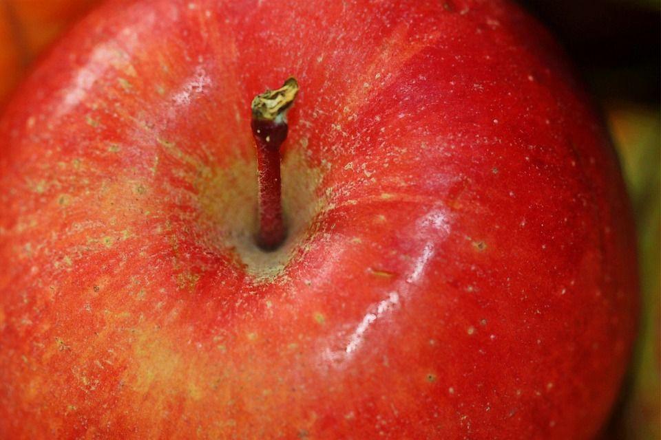Verrines blanche aux pommes et éclats de nougatine