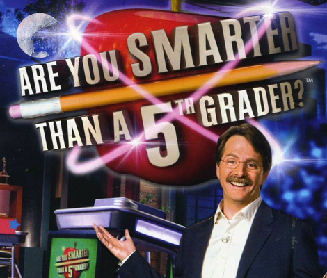 FOX annonce le retour du jeu &quot&#x3B;Are You Smarter Than A 5th Grader ?&quot&#x3B;