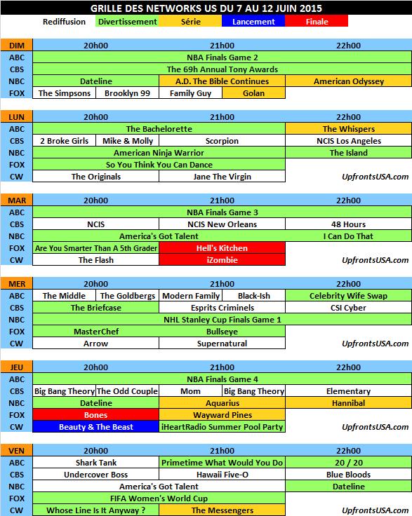 Grille des networks du 7 au 13/06 : début de la saison 3 de &quot&#x3B;Beauty &amp&#x3B; The Beast&quot&#x3B; &#x3B; fin de &quot&#x3B;Bones&quot&#x3B; et &quot&#x3B;iZombie&quot&#x3B;