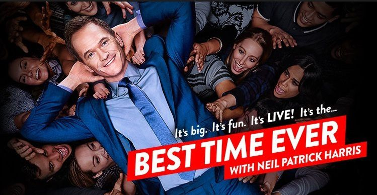 NBC lance ce soir &quot&#x3B;Best Time Ever&quot&#x3B;, son nouveau grand show présenté en direct par Neil Patrick Harris
