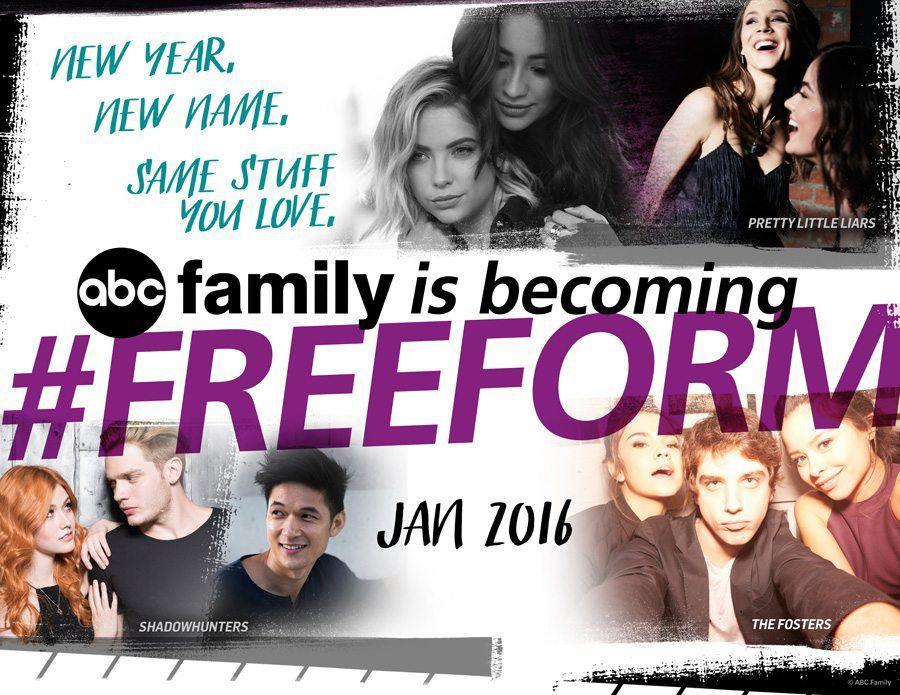 ABC Family change de nom pour s'appeler Freeform à partir du 1er janvier 2016