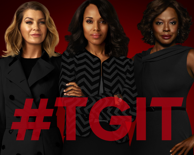 Audiences Jeudi 19/11 : &quot&#x3B;Grey's Anatomy&quot&#x3B; devient la série la plus regardée du TGIT face aux baisses de &quot&#x3B;Scandal&quot&#x3B; et &quot&#x3B;How To Get Away With Murder&quot&#x3B;